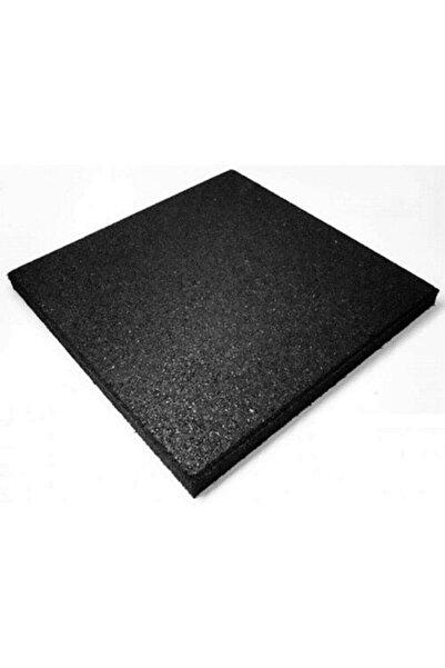 zemindose Siyah Renk Karo Kauçuk Zemin 40x40