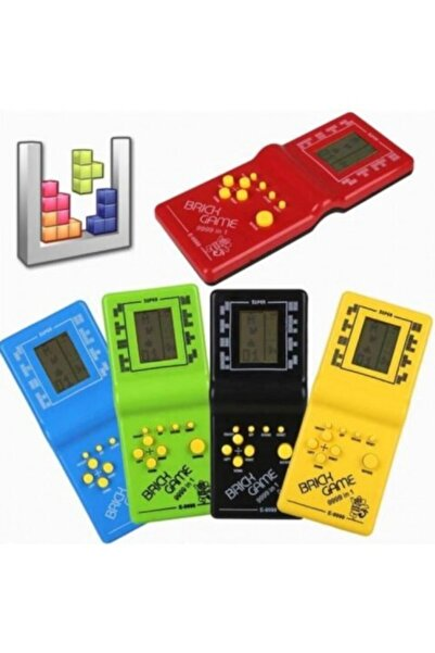 Bircan Oyuncak Turuncu Nostaljik El Atarisi Tetris