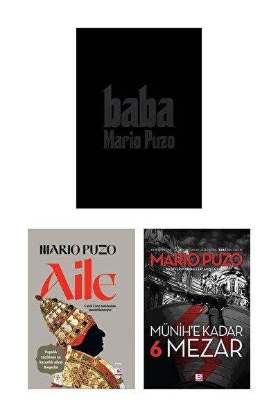 E yayınları Mario Puzo Kitap Seti Aile Baba Münihe Kadar 6 Mezar