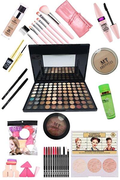 Makeuptime Tikatti Özel Dizayn Makyaj Seti - Açık Ten