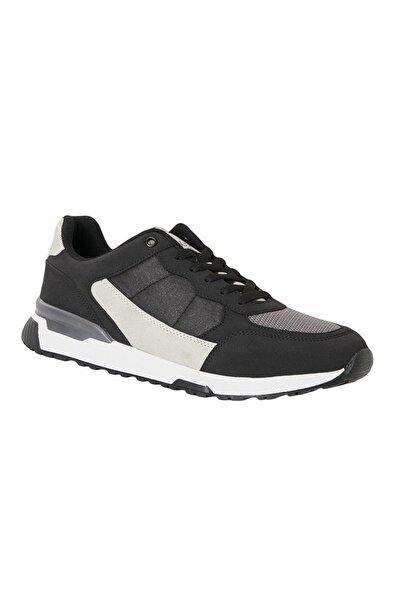 AC&Co / Altınyıldız Classics Erkek Siyah Günlük Rahat Spor Ayakkabı