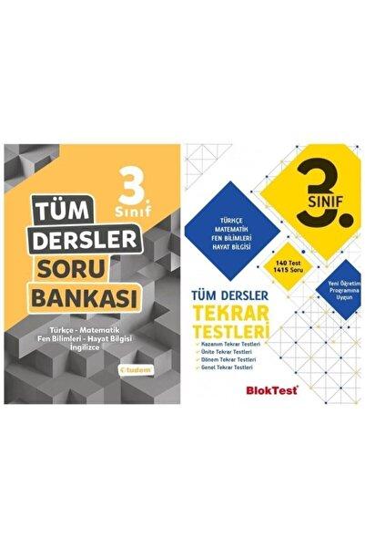 Tudem Yayınları 3.sınıf Tüm Dersler Soru Bankası Tudem + Bloktest Tekrar Testleri