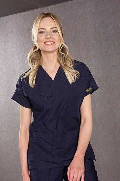 ÇİZGİ MEDİKAL Dr. Greys Modeli Lacivert Doktor&hemşire Forması