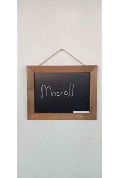 Moccoll Dekoratif Kara Yazı Tahtası Duvar Tahtası Menü Yazı Tahtası
