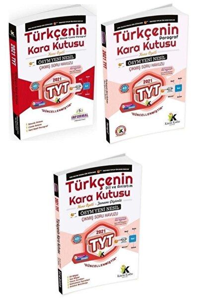 İnformal Yayınları Informal 2021 Yks Tyt Türkçenin Kara Kutusu 1-2-3 Cilt Çıkmış Sorular Soru Bankası 3 Lü Set