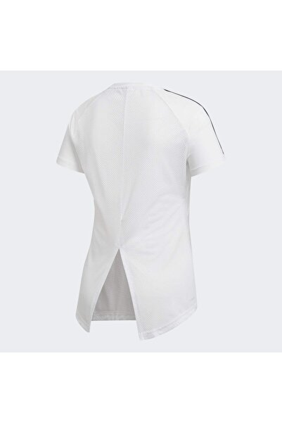 adidas W D2M 3S TEE Beyaz Kadın T-Shirt 101068977