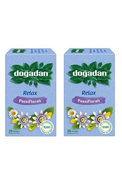 Doğadan Relax Passifloralı Bitki Çayı 20'li X2 Paket