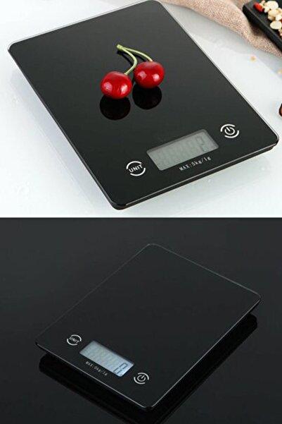 Velina Home Crown Dijital Hassas Mutfak Tartısı - Terazisi-hassas Ölçüm 5kg Siyah 1410