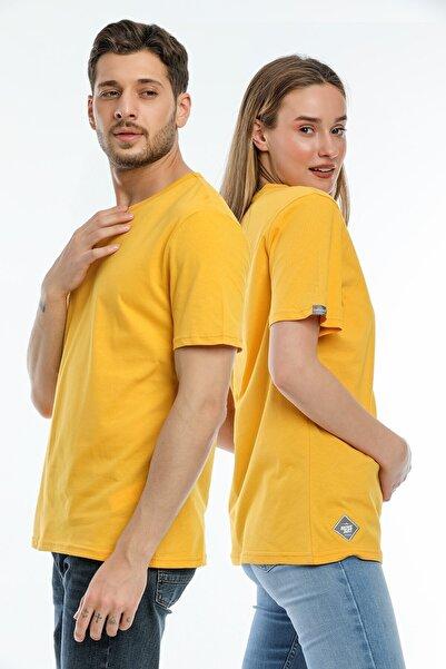 BESSA Bisiklet Yaka Düz  T-Shirt Standart Kalıp