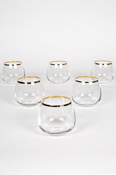 Rakle Astoria Gold 6'lı Kahve Yanı Bardağı Seti 220 Cc