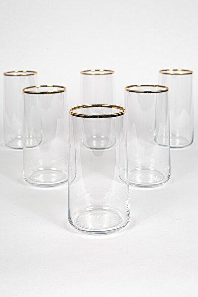 Rakle Avantgarde Gold 6'lı Meşrubat Bardağı Seti 540 Cc