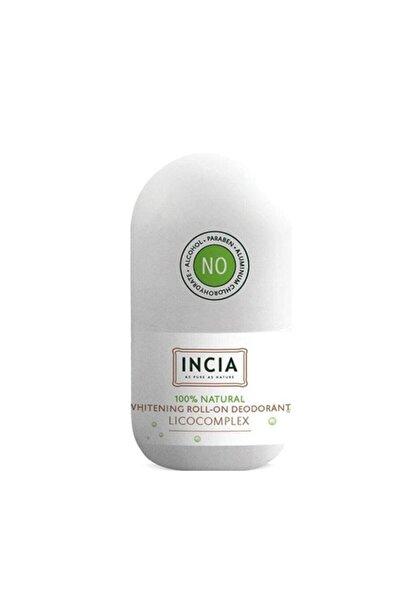 Incia Whitening Beyazlatıcı Doğal Roll On Deodorant 50 ml