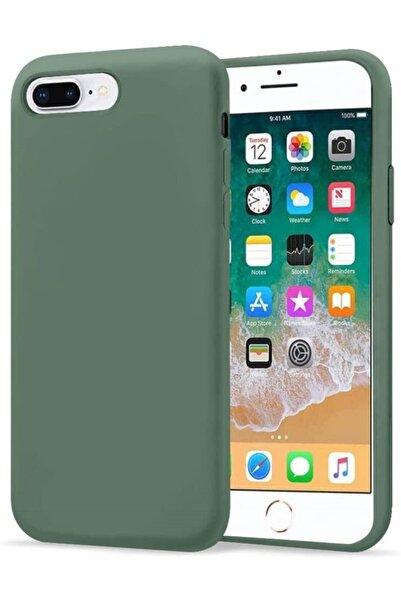 Teknoçeri Iphone 7 Plus / 8 Plus Içi Kadife Lansman Silikon Kılıf