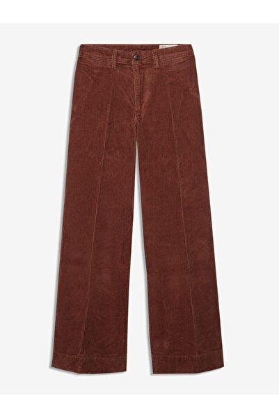 GAP High Rise Wide-leg Kadife Pantolon