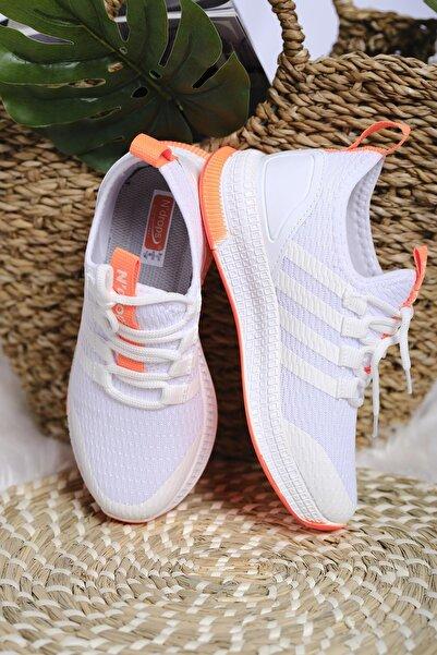 Oksit Çocuk Beyaz Nd Leonore Fileli Sneaker