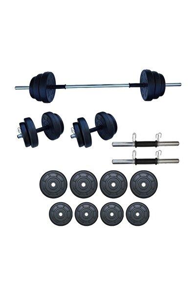 Dambılcım 35 Kg Halter Seti Dambıl Seti Ağırlık Ve Vücut Geliştirme Aleti 35 Kg Spor Dumbell Set