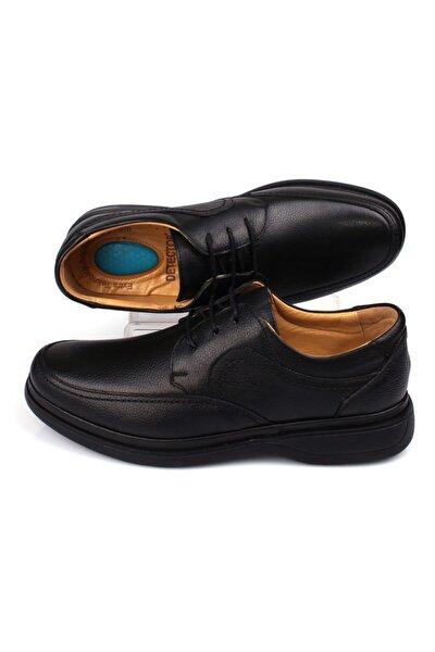 DETECTOR Iç Dış Hakiki Deri Tam Ortopedik Jel Taban Günlük Erkek Ayakkabı