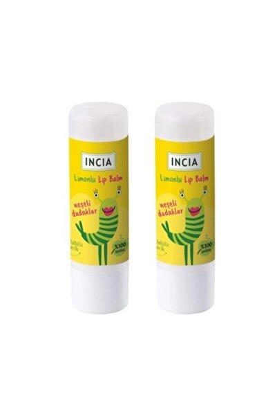 Incia Incıa Çocuk Limonlu Dudak Besleyici 1+1