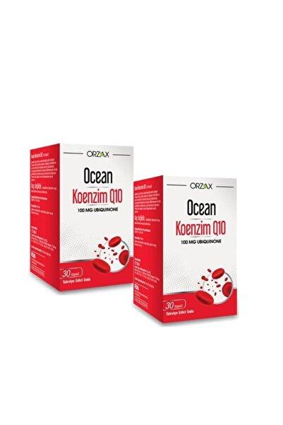 Ocean Koenzim Q10 100 Mg Ubikinon 30 Kapsül 2'li