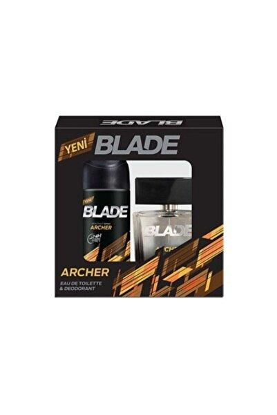 Blade Archer Edt 100ml Erkek Parfüm Seti +150 Ml Deodorant Men Kofre Set