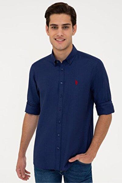 Lacıvert Erkek Gömlek