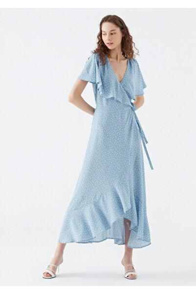 Mavi Anvelop Elbise