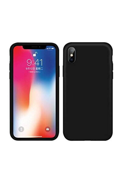 Mopal Iphone X / Xs Içi Kadife Lansman Silikon Kılıf