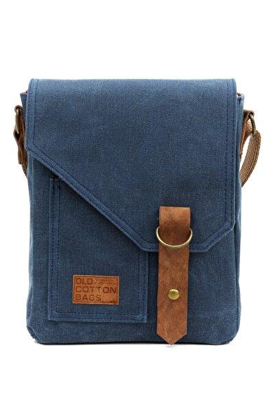 Old Cotton Cargo 7059 S Pretty Su Geçirmez Kumaş Omuz - Mini Laptop - Postacı Çantası