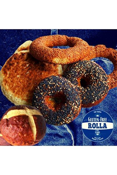 Rolla Gluten Free Glutensiz Tanışma Paketi  Adet Simit, Bazlama, Bagel, Burger Ekmeği 2'şer