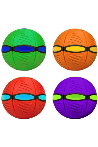ALKILIÇ Flat Ball (phlat Ball) Dönüşebilen Uçan Frizbi Disk Futbol & Eğlence Topu Eso