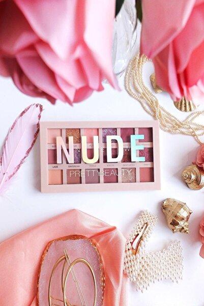Pretty Beauty New Nude 18'li Göz Farı