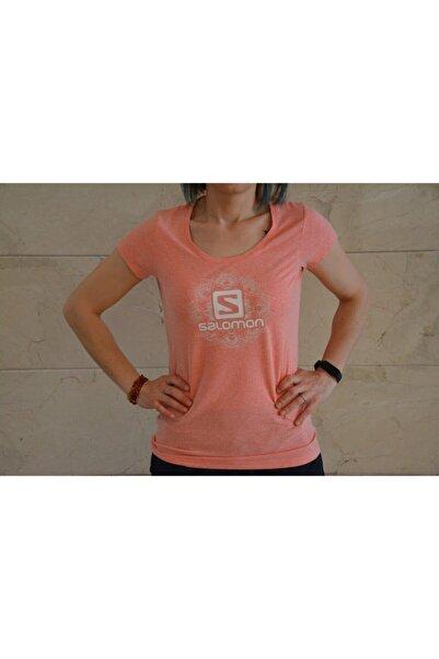 Salomon S20wmedusa-23530 Medusa Ss Tee W Kadın T-shirt