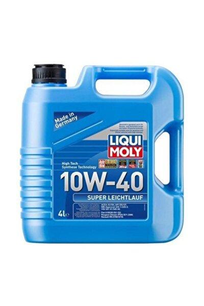 Liqui Moly Leıchtlauf Süper Sentetik 10w-40 Motor Yağı 4 Lt. (DOLUM TARİH03-21)