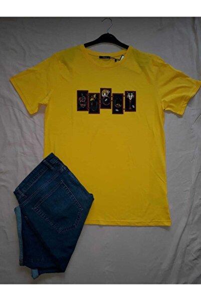 Kristal Erkek Baskılı T-shirt