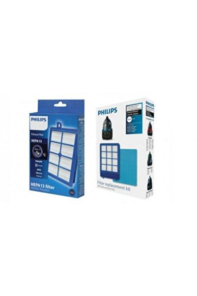 BLUE HOUSE Expermarket Philips Fc 9928/07 Marathon Ultimate Süper 3'lü Filtre Set ( Ön Filtre Süngeri Dahil )