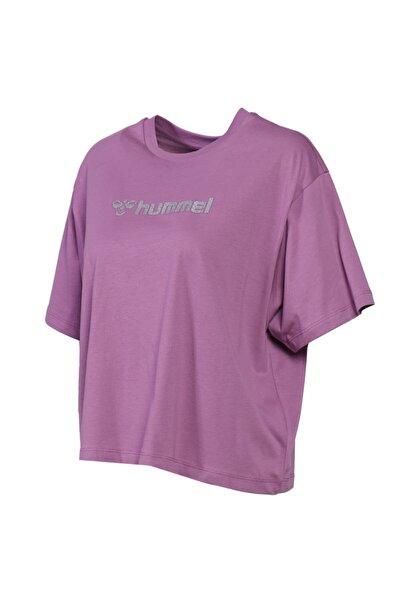 HUMMEL HMLTERAMO Mor Kadın T-Shirt 101085872