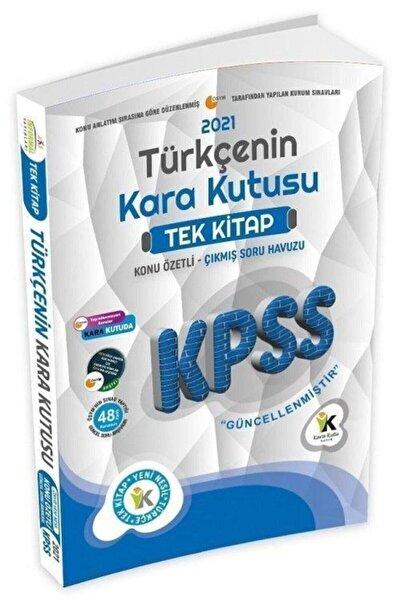 İnformal Yayınları 2021 Kpss Türkçenin Kara Kutusu Tek Kitap Çıkmış Sorular Soru Bankası