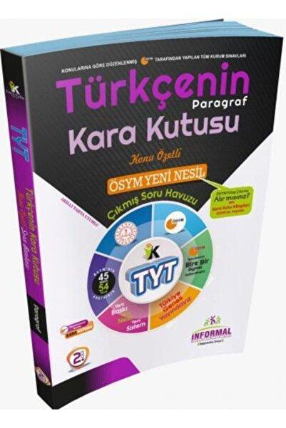 İnformal Yayınları Tyt Türkçenin Kara Kutusu Paragraf Konu Özetli