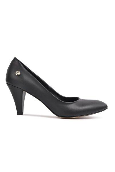 Pierre Cardin 50178 Siyah Kadın Topuklu Ayakkabı