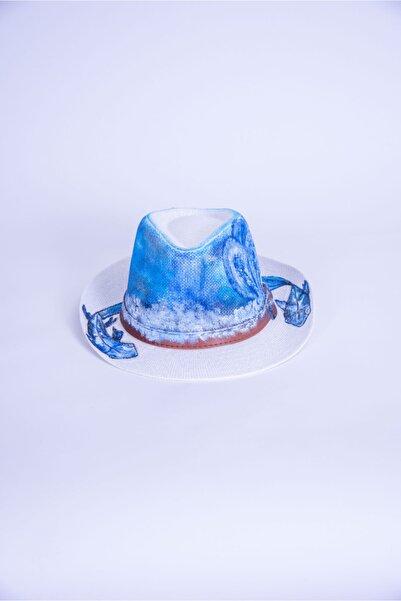 artıbir Unisex Mavi Şapka
