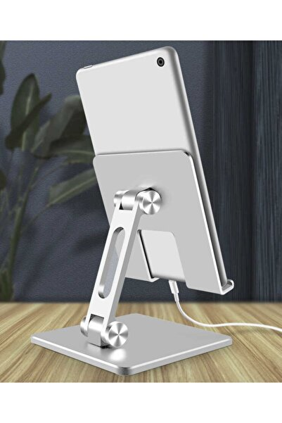 Mrs Tablet - Ipad Standı Metal Protatif Masaüstü Ayarlanabilir Stand Ms-135
