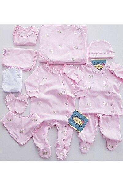 Pierre Cardin Baby Kız Çocuk Pembe Hastane Çıkış Seti