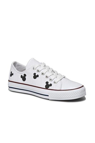 Mickey Mouse Abela.z1fx Beyaz Kadın Sneaker