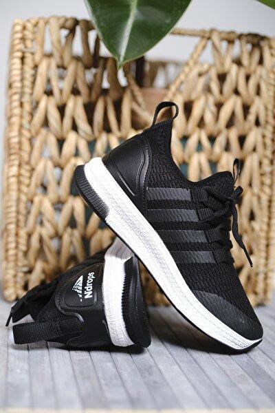 Oksit Erkek Çocuk Siyah Leonore Fileli Sneaker