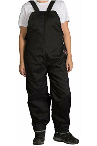 AnkaShop Motosiklet Askılı Tulum Sertifikalı Korumalı Pantolon Oxford Kumaş Full Koruma Kurye Motor Pantolonu