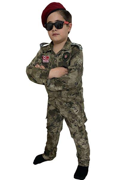 DEHAMODA Çocuk Polis Özel Harekat Kıyafeti Polis Kostümü Çocuk Asker Kıyafeti