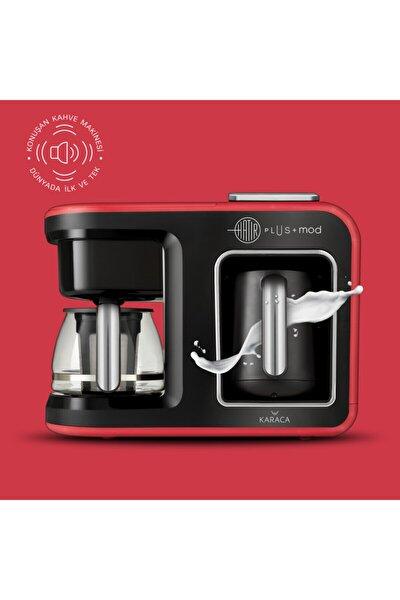 Karaca Hatır Plus Mod 5 In 1 Çay Ve Kahve Makinesi Kırmızı