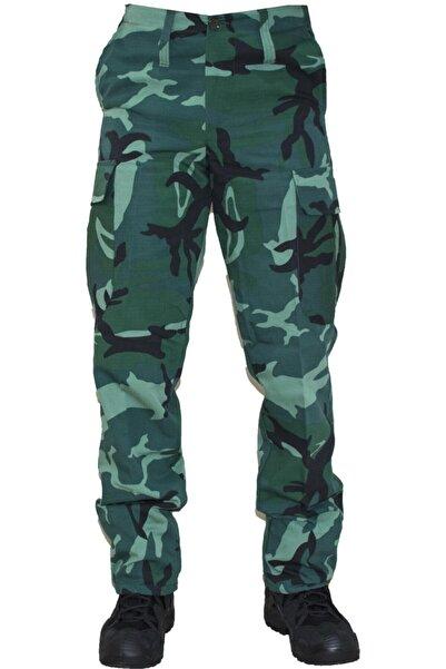 MysiaStyle Askeri Kamuflaj Avcı Pantolon M017
