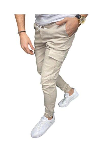 Zoom Unisex Bej Cepli Pantolon