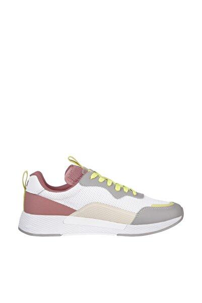Tommy Hilfiger Kadın Gri Sneaker Technical Detail Runner EN0EN01360